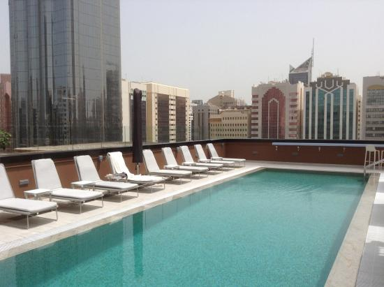 pool picture of courtyard world trade center abu dhabi