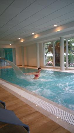 Hotel Villa Franca: the inside pool