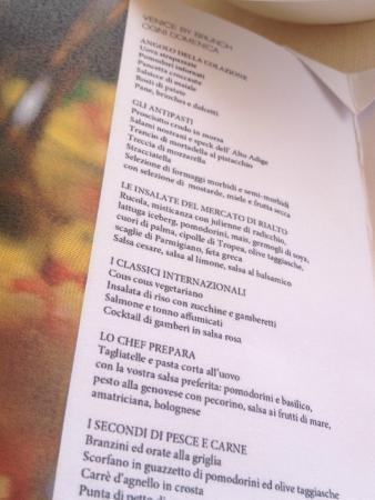 Brunch Menù Fotografía De Restaurant Terrazza Danieli