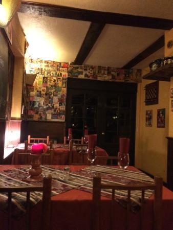 La Petite France: decoración   comedor