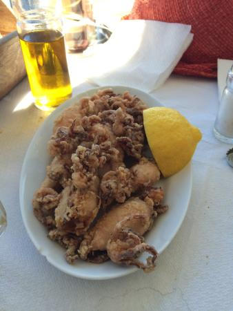 Big Blue Restaurant : Fried squids are excellent!!!