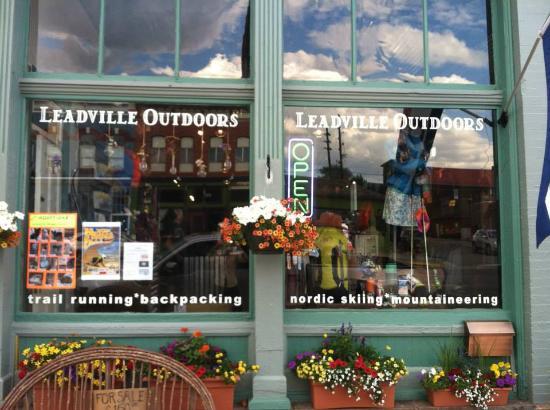 Leadville Outdoors Retail Shop