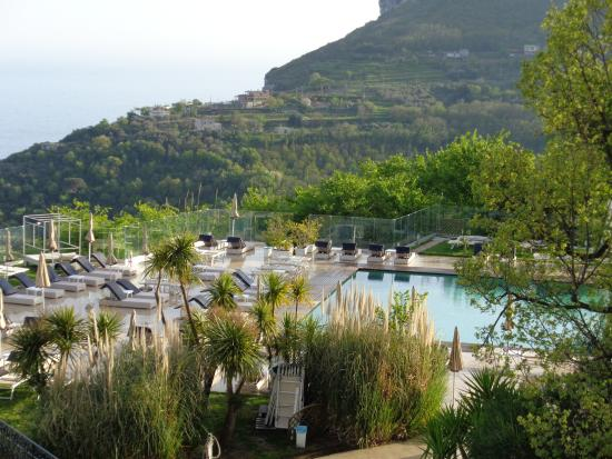 Tui Sensimar Grand Hotel Nastro Azzurro: View from Sunset Bar