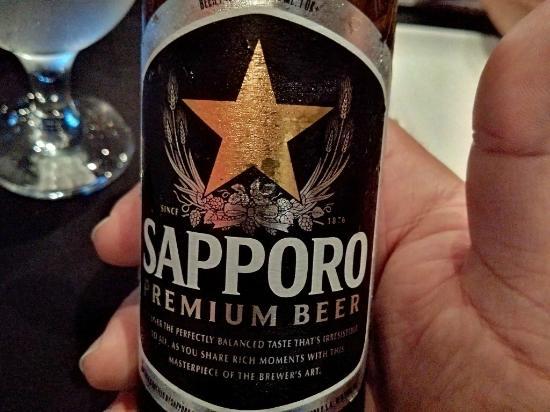 Zk Nikkei Cuisine: No puede faltar una buena Sapporo