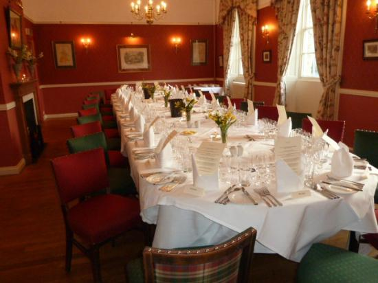 The Worsley Arms Hotel: Private Dinner in the Restaurant