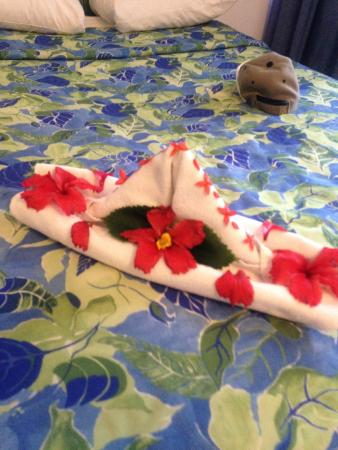 Posada Real Ixtapa: Cute towel art