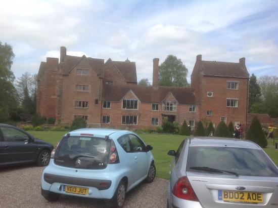 Harvington Hall: Front of the house from the car park