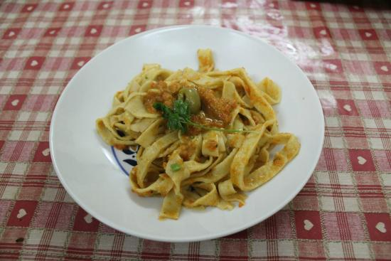 Italy Farm Stay: Delicious pasta served from our cooking class