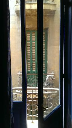 Paris Hotel: Balkon