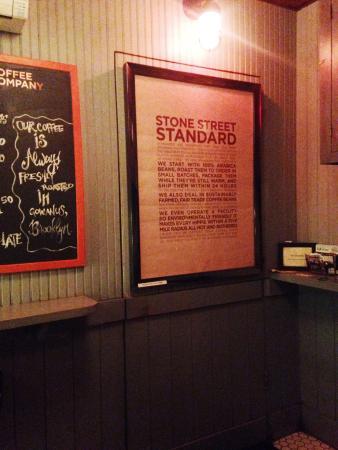 Bathtub Gin: Secret Door In Front Cafe