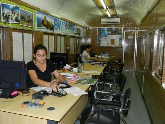 Pantanal: Escritório