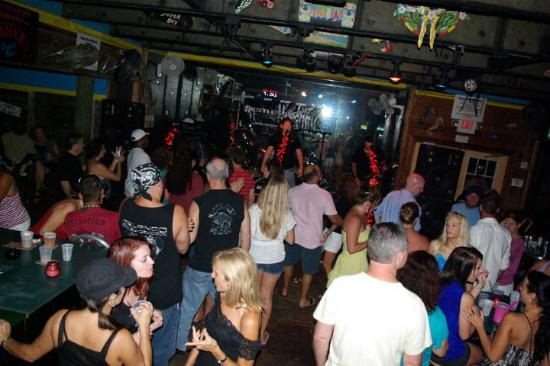 Place Was Packed Great Band Picture Of Jimmy B S Beach Bar St
