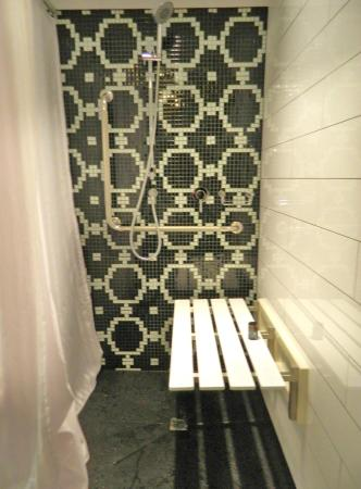 hotel st moritz queenstown mgallery collection the walkin shower with a bench