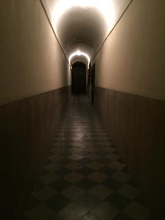 "Luxury Manfredi Apartments: The ""lovely"" entry hallway to the building"