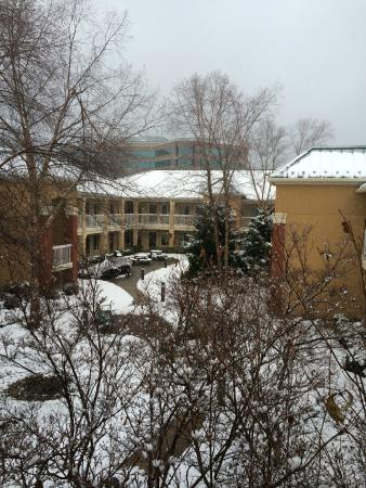 Extended Stay America - Washington, D.C. - Reston: Court yard during winter