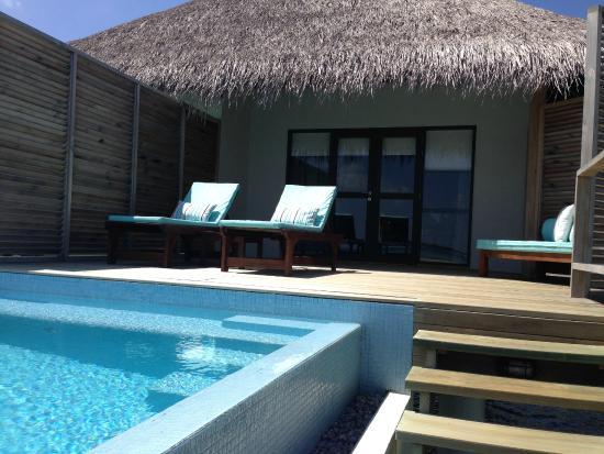 Water Bungalow with Pool - Picture of Velassaru Maldives, Velassaru Island  - Tripadvisor