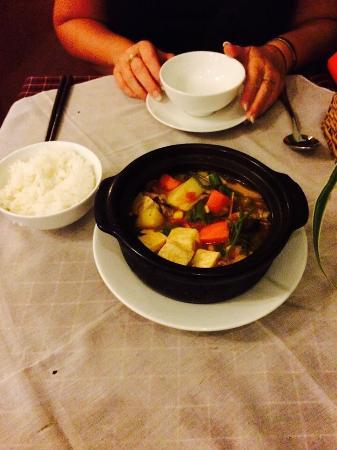 Da Quy Restaurant : Vegetarian hot pot.