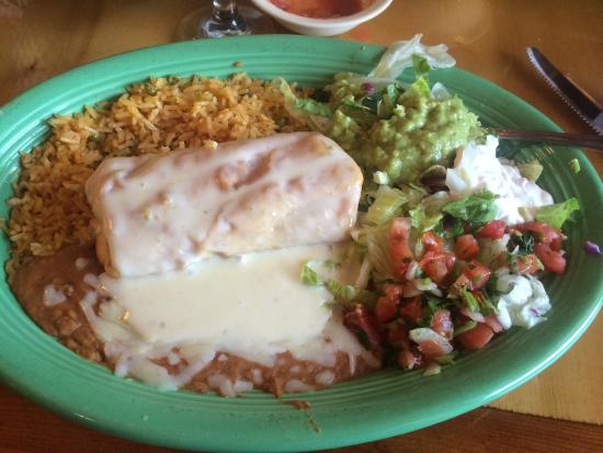 Peppers Mexican Grill and Cantina: Chimichanga with steak