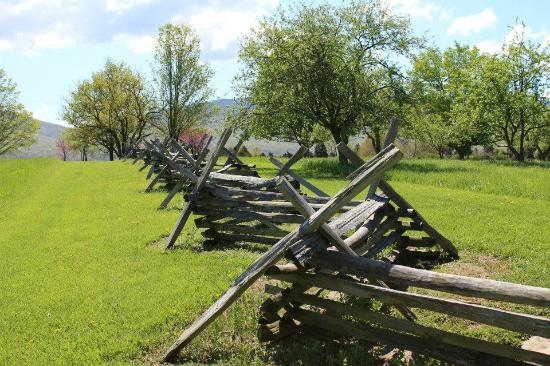Virginia Museum of the Civil War: Fences that VMI students climbed over