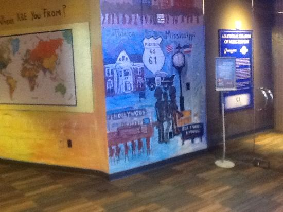 Gateway To The Blues Visitor Center & Museum: display