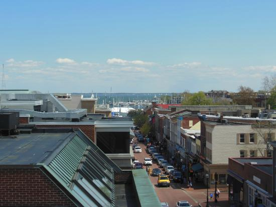 State House Inn: View from the King George Suite