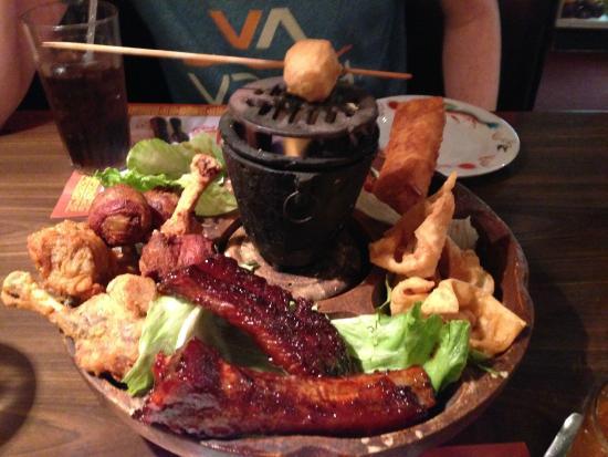 Pu-Pu Platter - Picture of Lam's Oriental Cuisine, New ...