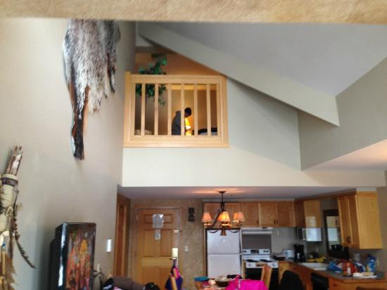 Shoshone Condominium at Big Sky Resort: Loft