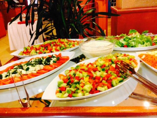 Primavera Hotel & Congress Centre : Veggie mixes