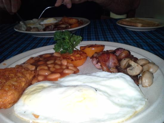 Boatman Restaurant : Full Breakfast
