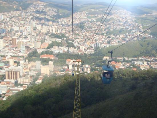 Teleférico e Serra São Domingos: Vista da cidade.