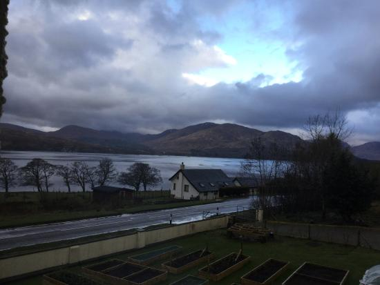 Ardarroch Cottage B&B: Early morning view from bedroom window