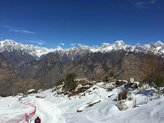 Auli, Indien: Trishul Peak