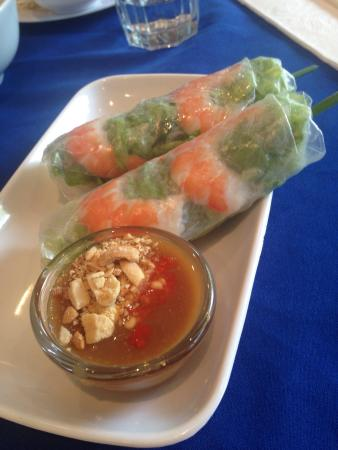 Song Nhi Vietnamese: Pre made rice paper rolls