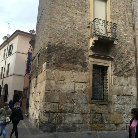 Fondazione Bano - Palazzo Zabarella: The tower - Ancient foundations (Roman?)