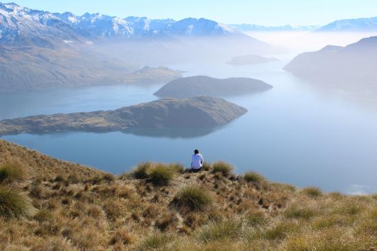 Wanaka, Nieuw-Zeeland: The view from Roys Peak