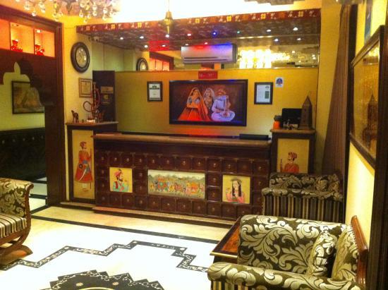 Rajputana Haveli: reception area