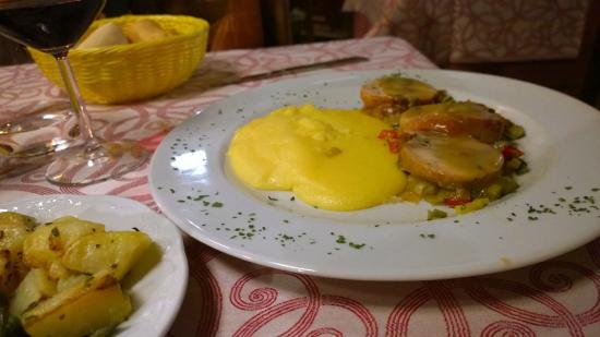 Osteria La Scala: Il coniglio disossato