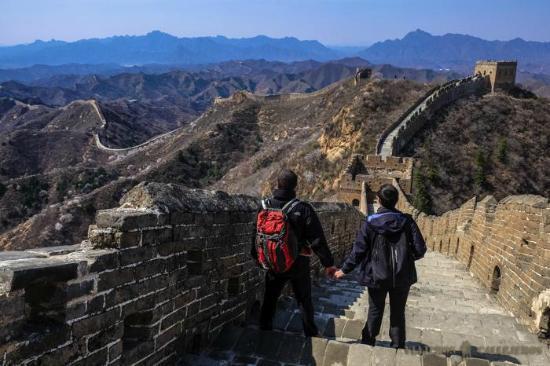 Great Wall of China: Jinshanling to Simatai in 4K (Ultra HD) - YouTube