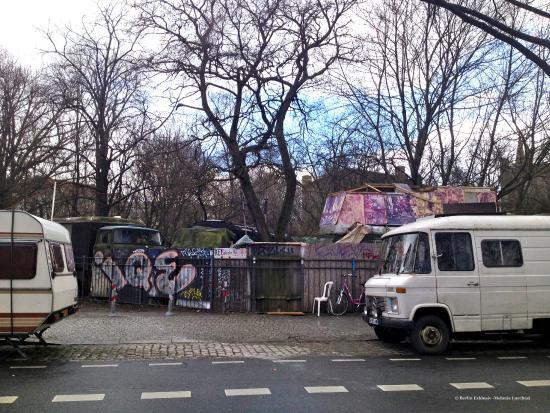 Berlin Exklusiv - Private City Tours : Kreuzberg-Wagenburg