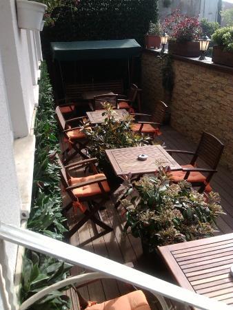 Kaftan Hotel: giardinetto