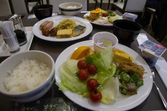 Saijo Urban Hotel : 朝食(バイキング)