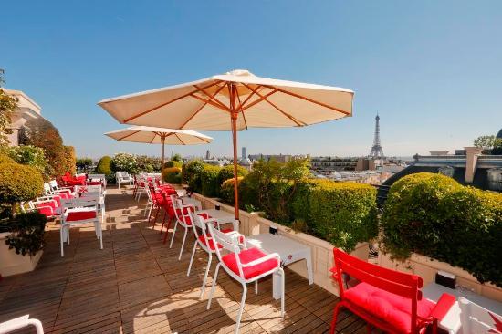 la terrasse hotel raphael paris champs elysees restaurant reviews phone number photos. Black Bedroom Furniture Sets. Home Design Ideas