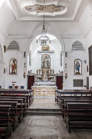 Church of St. Francis of Assisi: CHIESA DI SAN FRANCESCO - INTERNO - ALTARE CENTRALE