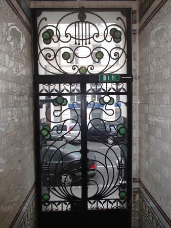 Time Out City Hotel Vienna: Вход в жилую зону отеля (вид изнутри)