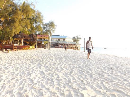 Nungwi Paradise Beach Bungalows : Our beach