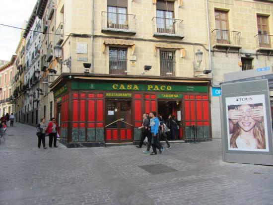 Restaurante Casa Paco: ресторан