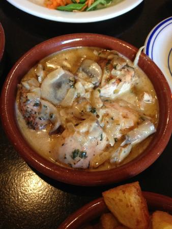 Picassos: This is the chicken with dijon mustard sauce - yum!