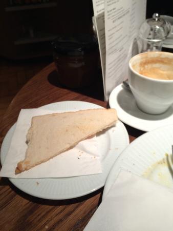 Cote Brasserie - Farnham: Toast / Warm Bread ?