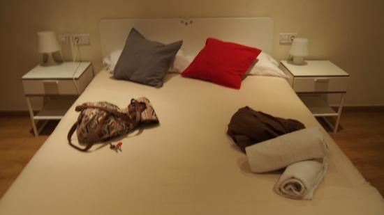 Itaca Hostel: Cama muy cómoda