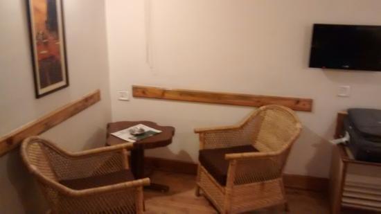 The Eee Cee Hotel: Corner of the room